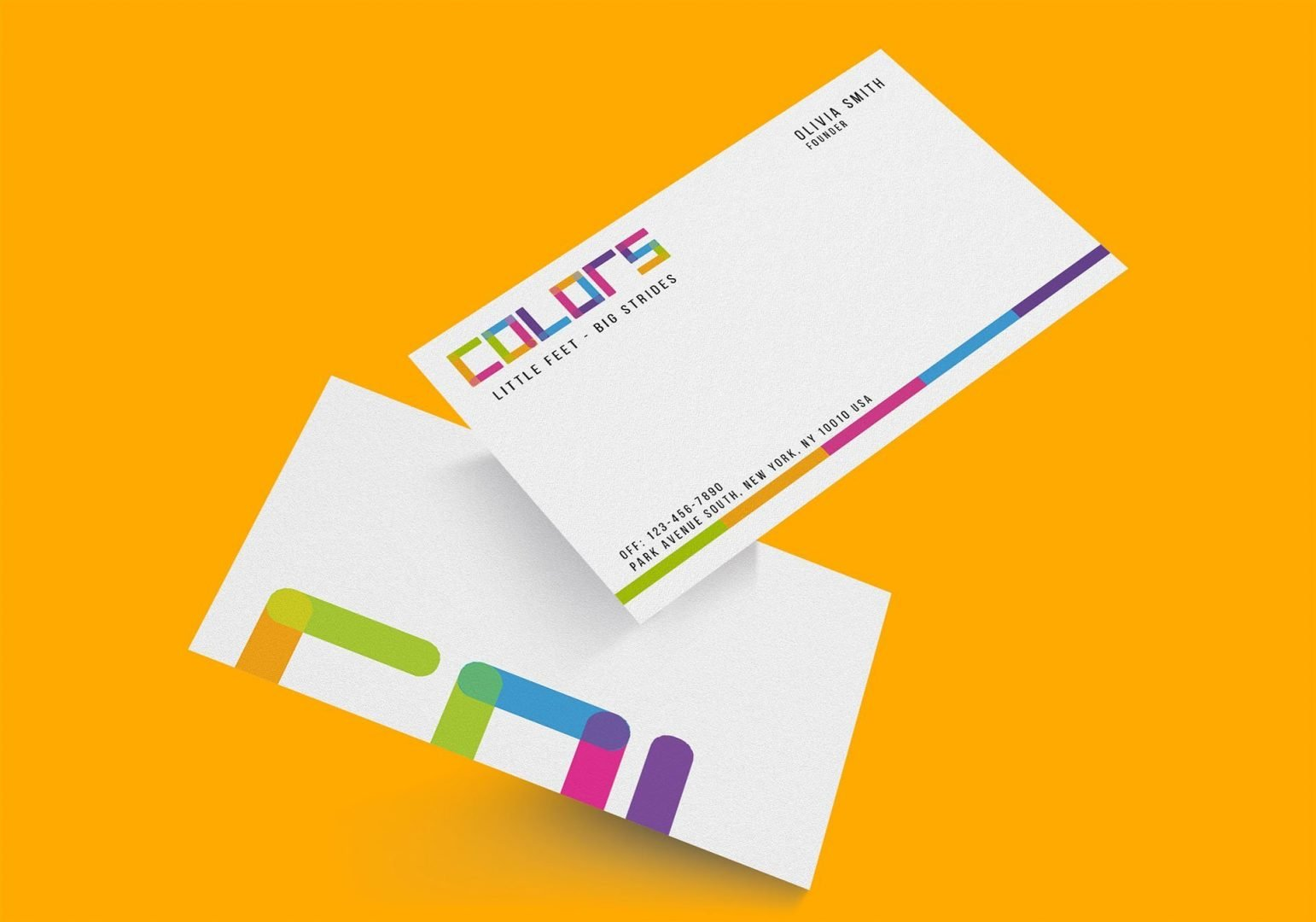 Colors non profit business card zera creative colors non profit business card by zera creative colourmoves