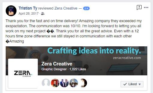 Zera Creative Testimonials
