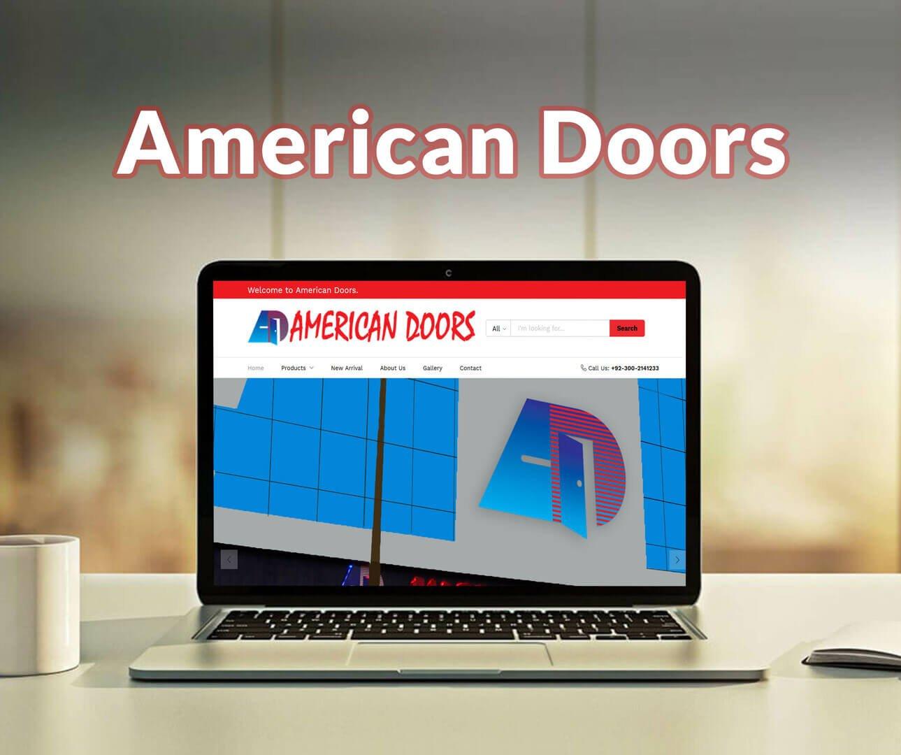 American Doors Website Development