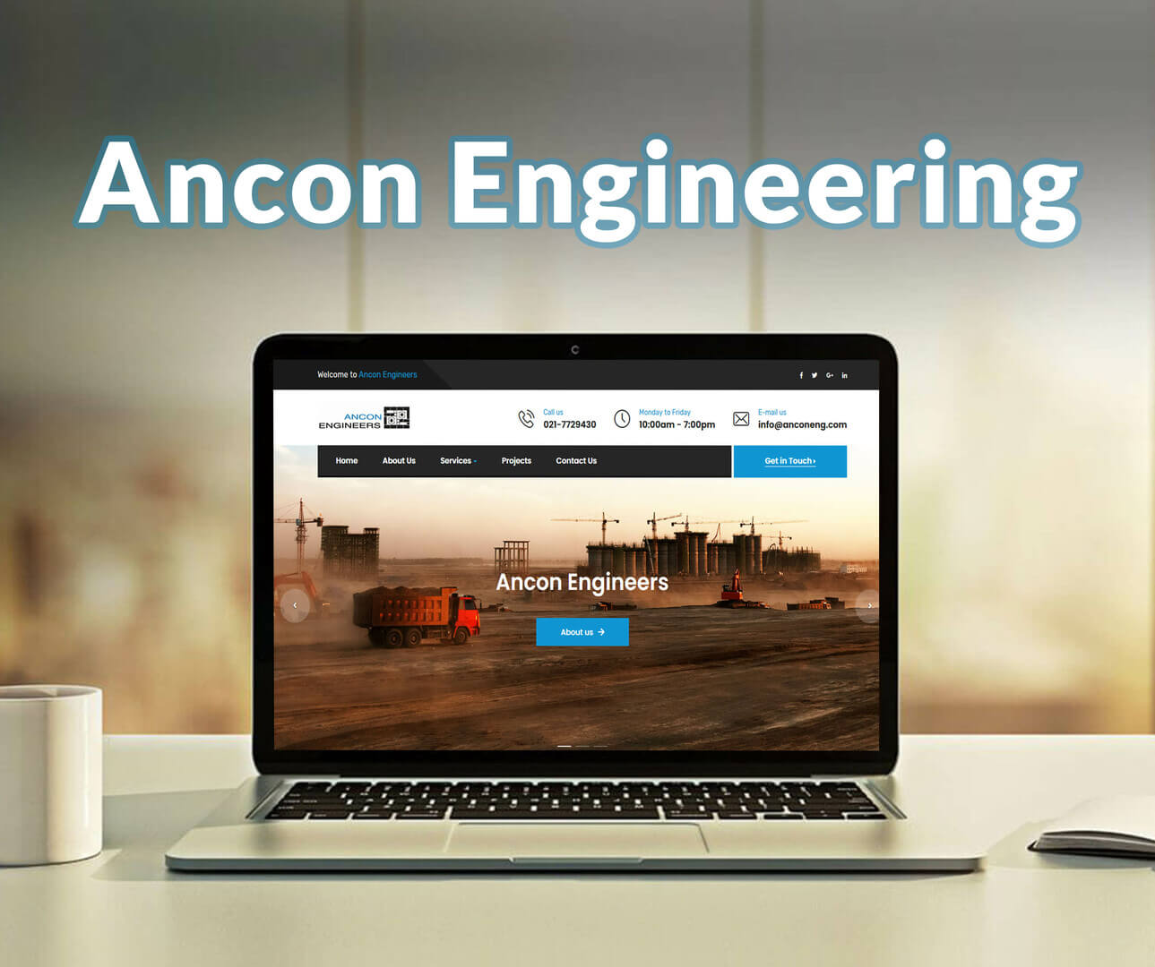 Ancon Engineering Website Development