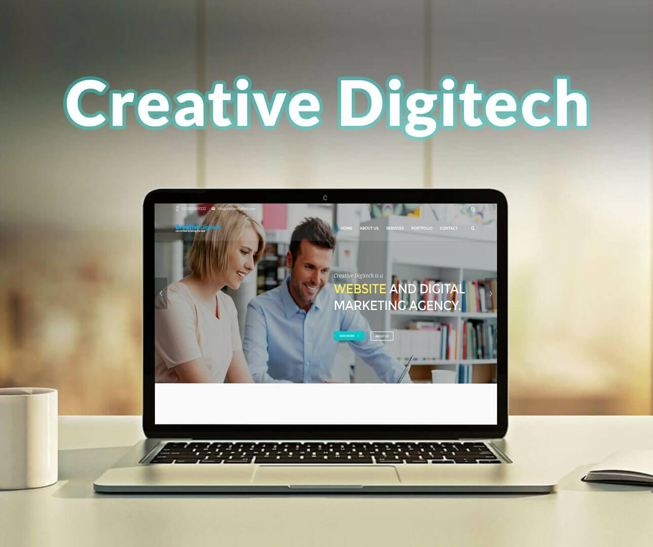 Creative Digitech Website Development Portfolio