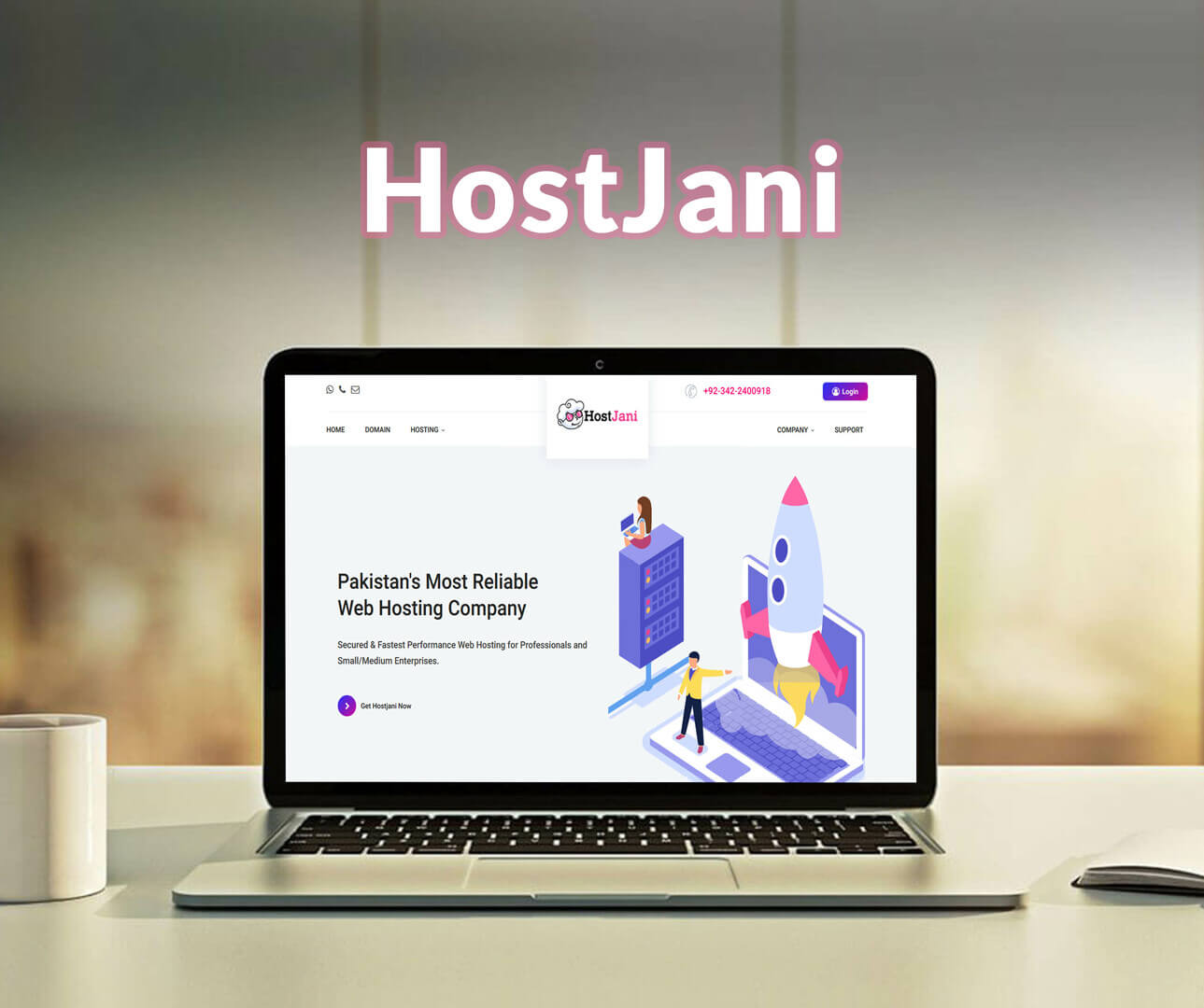 Hostjani Website Development Portfolio