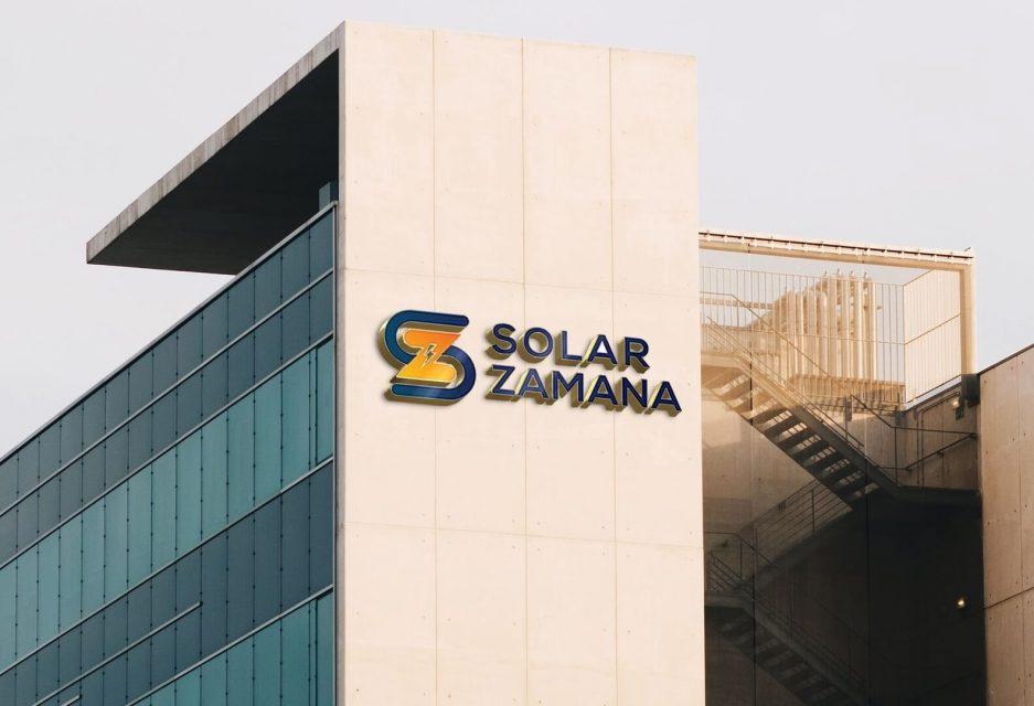 Solar Zamana Logo Design