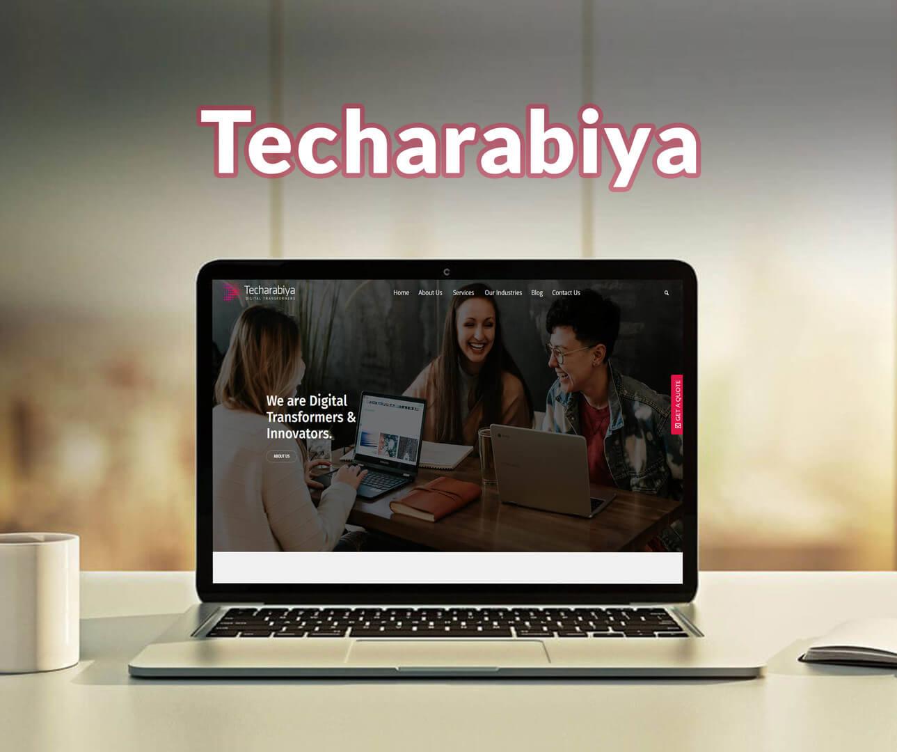 Techrabiya Website Development