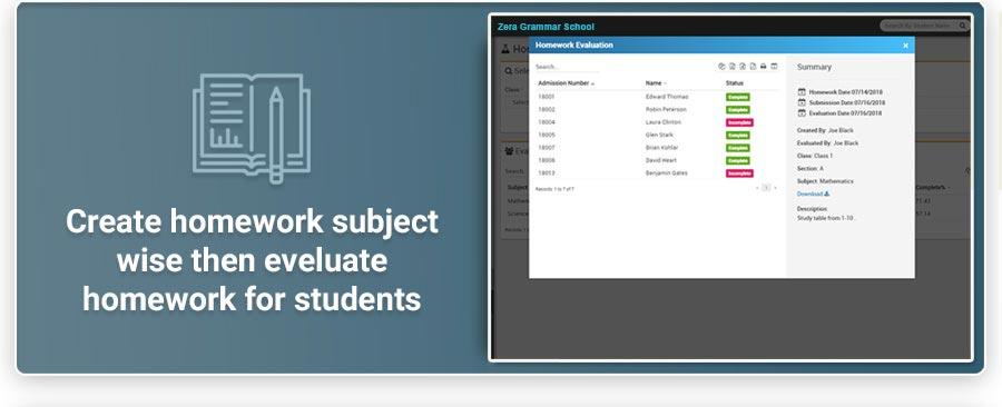 Zera School Management System Features