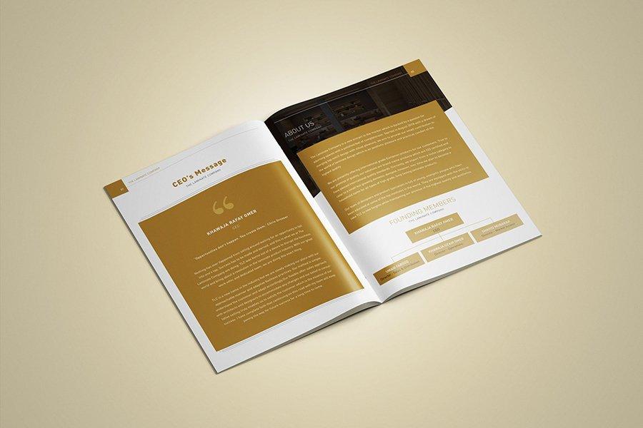 The Laminate Company Profile Design