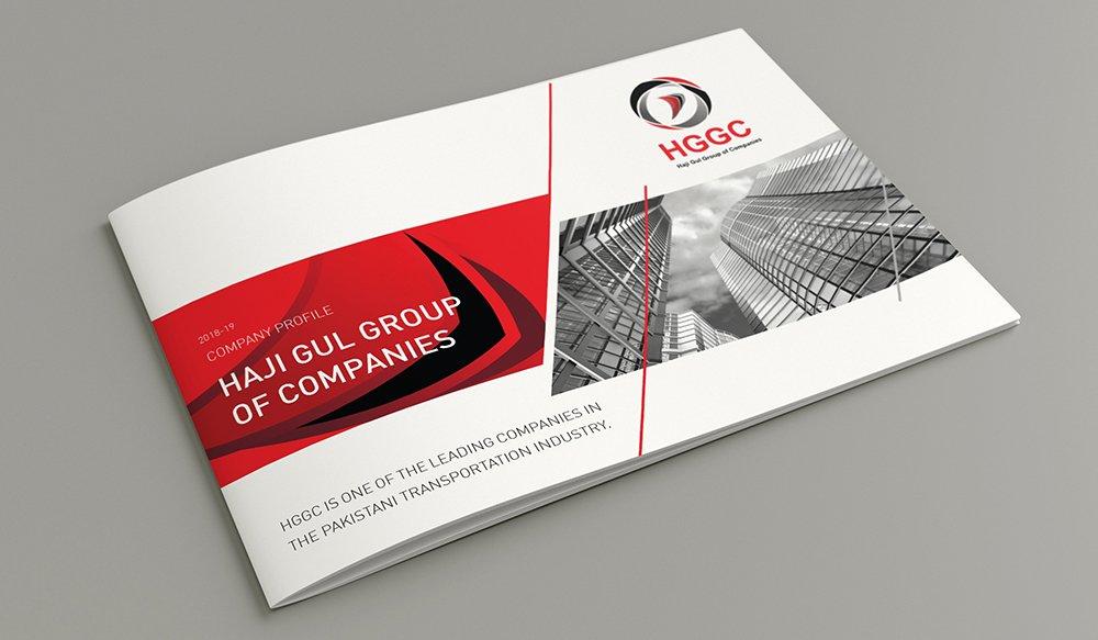 HGGC Company Profile Design