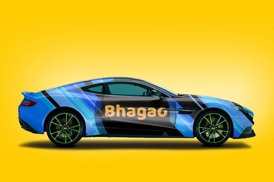 Bhagao Logo Design
