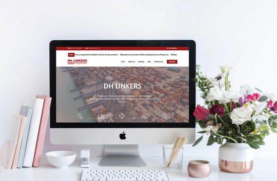 DH Linkers Website Development