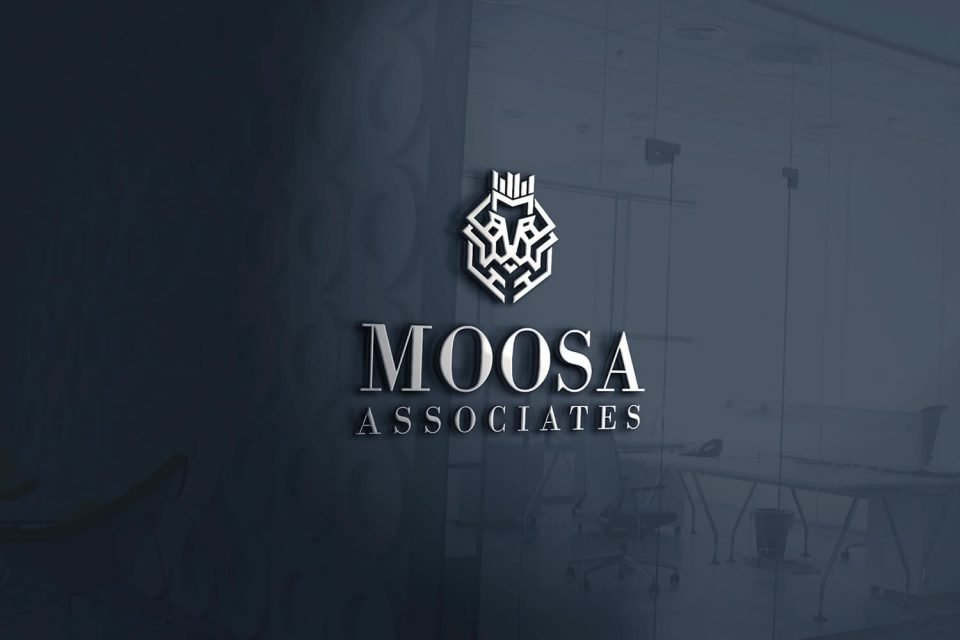 Moosa Associates Logo Design