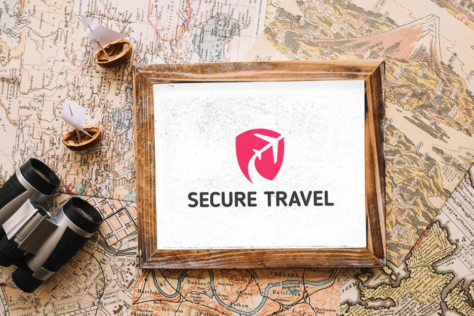 Secure Travel Logo Design