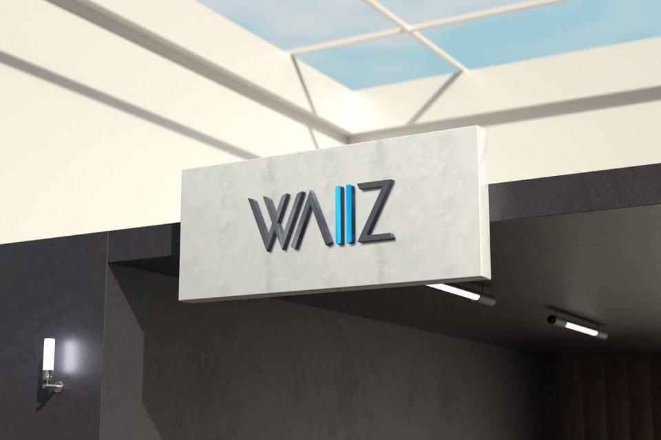 Waiiz Logo Design