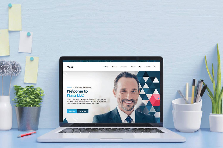 Waiiz Website Design Development